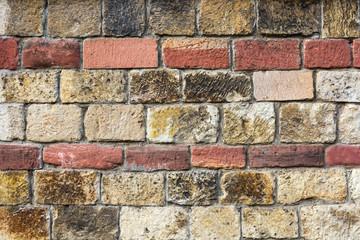 Steinwand Mauer Fassade