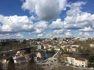 Vue sur Limoges