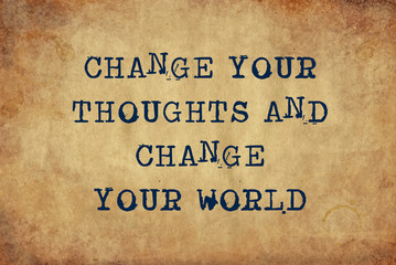 """changed world needs new thoughts essay It concludes thoughts, not presents new ideas example source: purdue owl so, here's how to end an essay  transit to human nature to impress a reader and give them food for thought ~ example: """"change your life for the better – go get a dog""""  your essay needs a conclusion to drive main points and give understanding why it."""