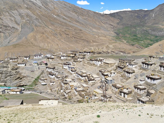 Kibber village. Himachal Pradesh. India. 4270 meters above sea level.