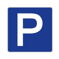 Verkehrsschild Parken