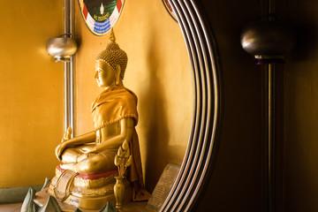 The  Golden Buddha at Thailand