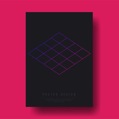 Abstract Geometric Shapes Cover Design layout for banners, wallpaper, flyers, invitation, posters, brochure, voucher discount - Vector illustration template