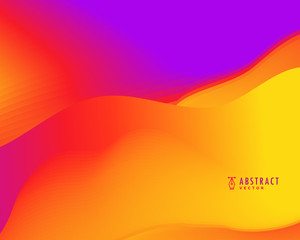vibrant abstract vector background in bright colors