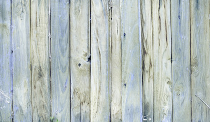Horizontal wood plank fence close up Detailed background photo