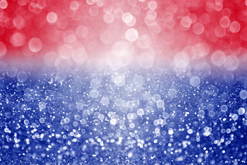 Abstract Patriotic Red White and Blue Background