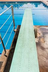 Diving Board Pool Aquatic Sport