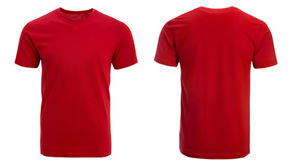 Red t-shirt, clothes