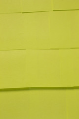 This is a photograph of Green Sticky notes background