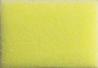 Yellow Plastic Sponge Foam