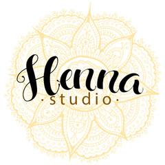 mehndi studio logo