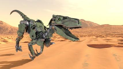恐竜ロボット