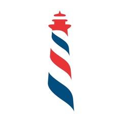light house logo vector.