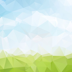 abstract background low poly textured triangle shapes in random pattern design ,vector design illustration