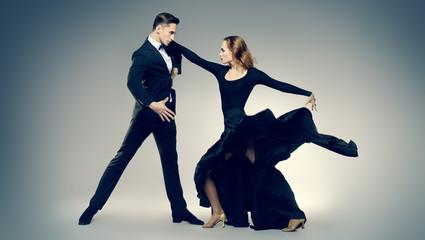 dancers performing tango