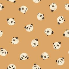 可愛いパンダパターン