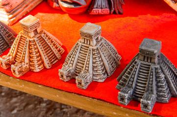 Chichen Itza model, Authentic handcraft souvenirs of maya civilisation