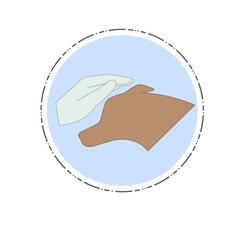 Veterinary clinic logo / icon.