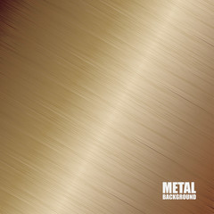 Bronze brushed texture background