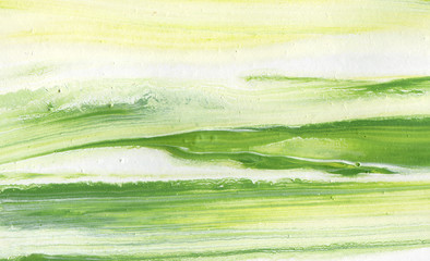 Green acrylic background