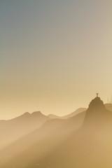 A breathtaking evening view from Pão de Açúcar to the Cristo redentor