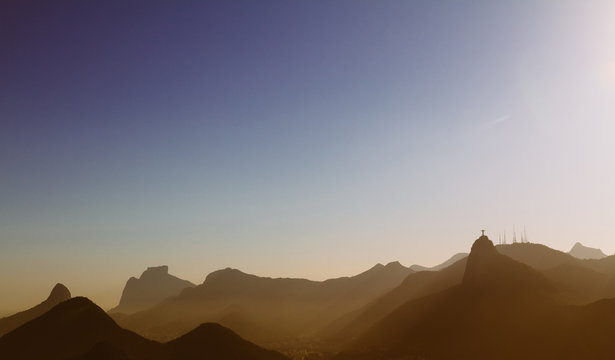 View from the Sugarloaf mountain, Rio De Janeiro