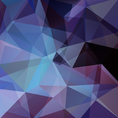 Abstract geometric style background. business background Vector illustration. Dark blue, black colors.