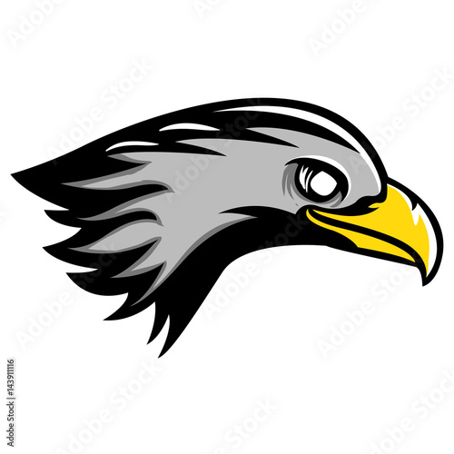 eagle head mascot clipart stock image and royalty free vector files rh fotolia com Philly Eagle Mascot Clip Art Football Eagle Mascot Clip Art