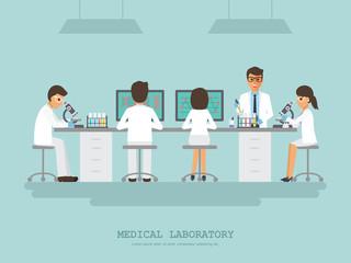 Medical science laboratory