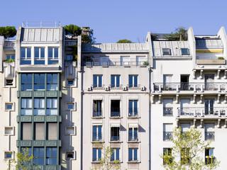 Wall Mural - immeubles modernes à Paris