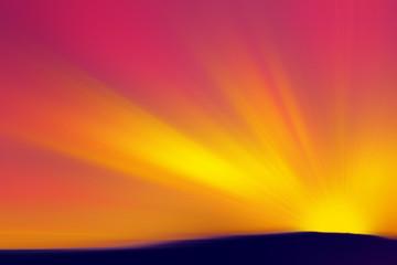 Illustrzione di un tramonto