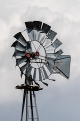 Weathered Ranch Windmill