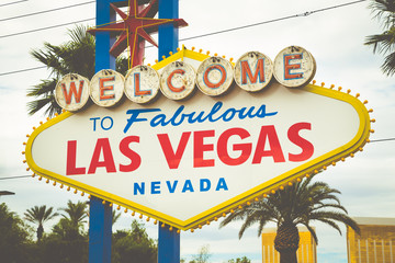 Welcome to Fabulous Las Vegas sign, Las Vegas Strip, Nevada, USA