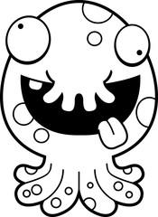 Crazy Cartoon Monster