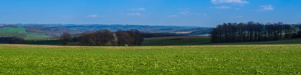 Erzgebirge Panorama
