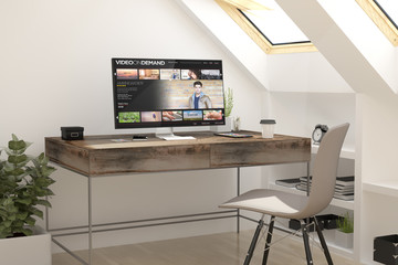 attic workplace video on demand