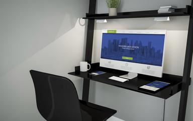 shelve desktop modern website