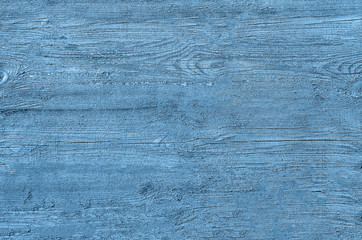 abstract bright blue painted wood background pattern texture
