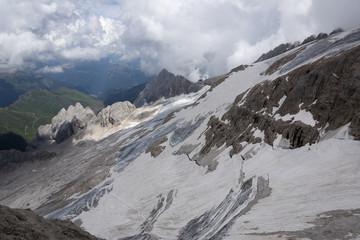 Marmolada, Italy, Europe, Trentino, Dolomites, Alps, Fassa Valley,