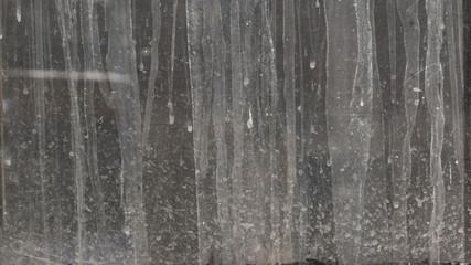Dirty glass Wall mural