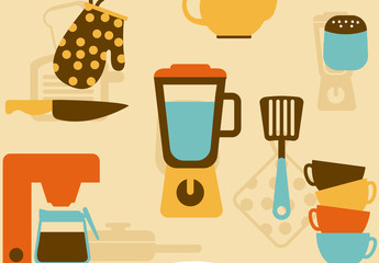 Food and Cooking Infographic Illustration