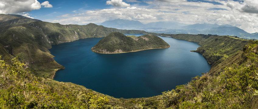 Laguna de Cuicocha, Reserva de Cotacachi - Cayapas, Ecuador