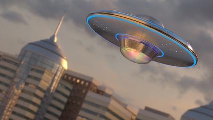 In de dag UFO Vintage UFO