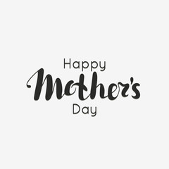 Happy Mother's day. Spring holiday. Congratulatory background with lettering. It can be used for card, postcard, invitation, banner, advertising. Vector illustration, eps10