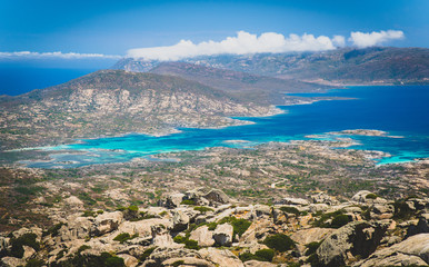 Asinara island, Porto Torres, Sassari province, sardinia, italy, europe..
