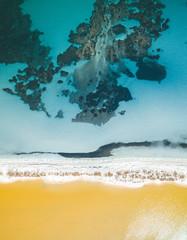 Aerial view of Saline beach