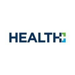 Health plus logo vector