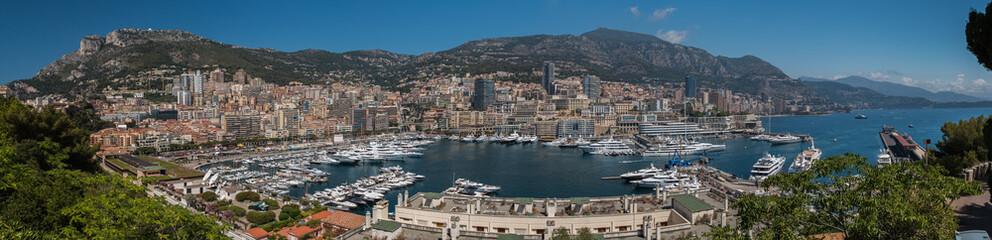 Monaco Panorama Day