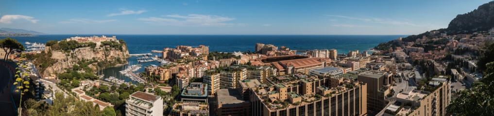 Monaco Panorama West Side