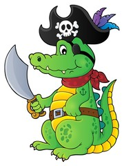 Pirate crocodile theme 1